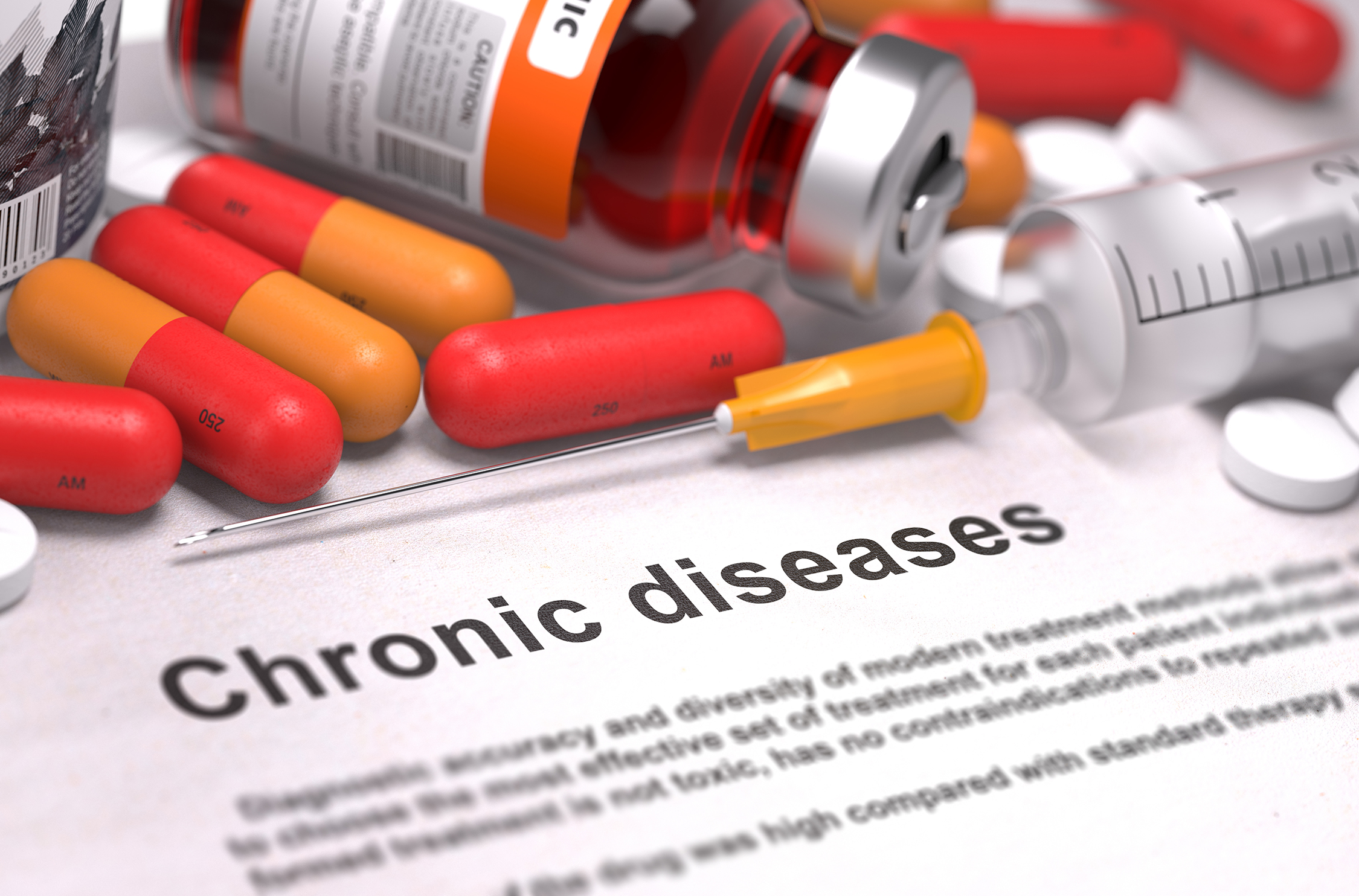 Diagnosis – Chronic Diseases. Medical Concept.